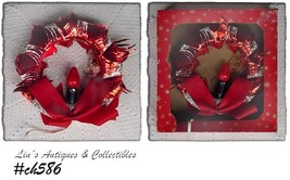 Vintage Ringalite Christmas Wreath / Decoration in Original Box!!! (Inv.... - €20,56 EUR