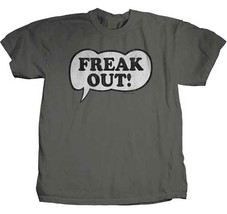 Frank Zappa-Freak Out-XL Charcoal Grey T-shirt - $22.24
