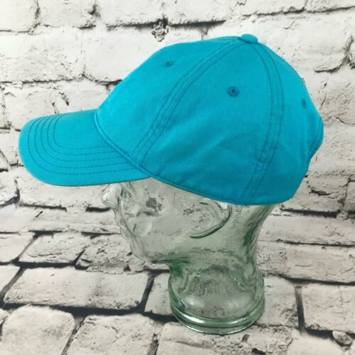 Tropical Trends Unisex One Sz Hat Sky Blue Strapback Baseball Cap 100% Cotton image 3