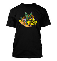 Just Hangin Out #377 - Men's T-Shirt - Funny Humor Sloth Cactus - $24.99