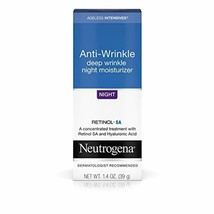 Neutrogena Ageless Intensives Anti-Wrinkle Deep Wrinkle Night Facial Moi... - $22.37
