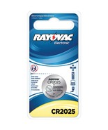 RAYOVAC KECR2025-1G 3-Volt Lithium Keyless Entry Battery (1 pk; CR2025 S... - $20.02