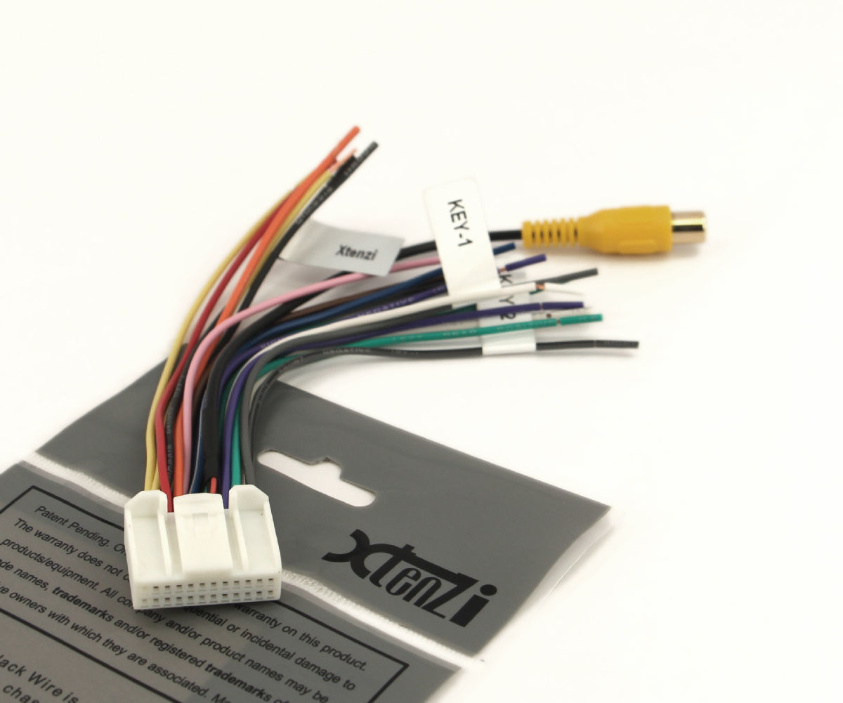 Xtenzi 24 Pin Radio Wire Harness For Pyle and 50 similar items on pyle radio wiring diagram, pyle plcm7200 wiring, pyle pldnv78i wiring diagram,