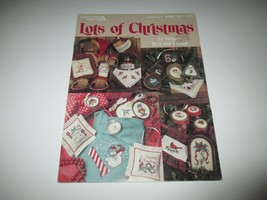 1990 Leisure Arts Lots of Christmas Leaflet 894 Cross Stitch Patterns - $5.00