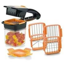 Fruit and Vegetable Chopper ~ Slicer ~ Dicer ~ Seven (7) Piece ~ Kitchen Gadget
