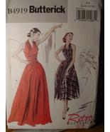 Sewing Pattern Retro 1952 Dress sizes 6-12 Uncut 4919 - $7.99