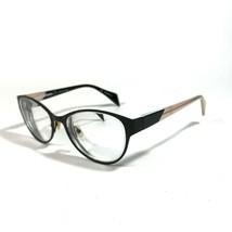Mikli Alain Mikli Matte Black Clear Ivory Eyeglass Frames ML1263 C02B 52 17 140 - $46.75