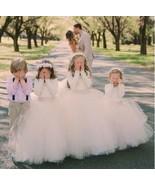 Cute Ball Gowns Tulle Flower Girl Dresses for Wedding - £72.58 GBP+