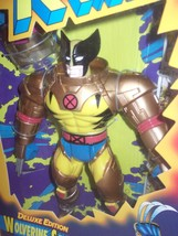 "MARVEL COMICS - X-MEN - DELUXE ED. WOLVERINE SPACE 10"" FIGURE - 1995 - MISB - $16.33"