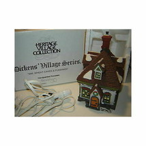 Dept 56 Dickens Snow Village  Wm. Wheat Cakes & Puddings 58084 - $52.08