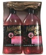 2 Pack Nature Box 13 Oz Almond Oil 100% Cold Pressed Body Wash Sensitive... - $28.99