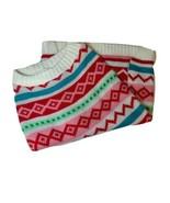 NWOT Pet Dog Cat Sweater, Size M Geometric Design Multicolor - $10.88