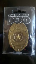 Yesterdays Skybound Image Comics Pin The Walking Dead Sheriff Rick Grime... - $16.70