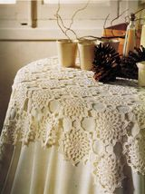 Sleeping Beauty Fit For King Bedspread Lattice Mat Table Topper Crochet Patterns - $9.99