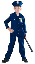 Child Police Officer Halloween Costume 5-7 Years - $32.00
