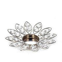 Crystal Flower Petals Candle Holder - $17.72