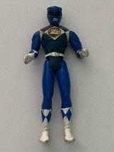 Vintage Power Rangers Blue Samurai Ranger Turbo Disney Action Figure Toy - $10.99