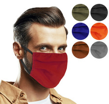 Cloth Protection Face Cover Mask Reusable Washable Breathable Cotton Made in USA
