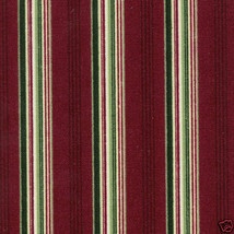 Longaberger 2005 Holiday Helper Basket Red Stripe Fabric DI Style Liner ... - $8.86