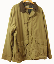 LL Bean Nylon Men's Sports XL Jacket Coat with inside pouch storage pocket - $39.55