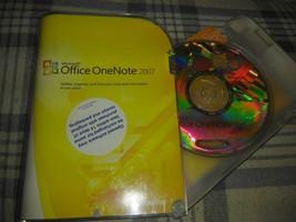 Microsoft Office OneNote 2007 (PC, 2007) P/N S26-01965 w KEY - $15.03