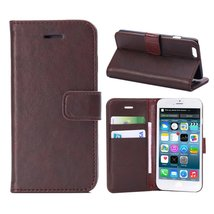 For iPhone 6 Plus Case,[XYX] Crazy Horse - Coffee Series Synthetic Leath... - $5.93