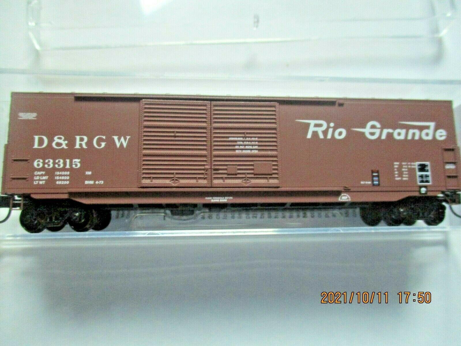 Micro-Trains Stock # 18200161 Denver & Rio Grande Western 50' Boxcar W/Load (N)