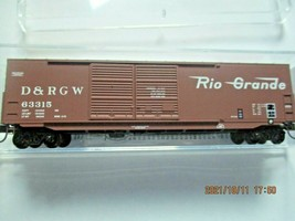 Micro-Trains Stock # 18200161 Denver & Rio Grande Western 50' Boxcar W/Load (N) image 1