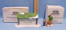 Department 56 Heritage Wood Cutter and Son Village Sign Original Box Lot... - $15.04