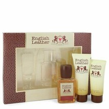 English Leather By Dana Gift Set -- 3.4 Oz Cologne Body Spash + 2 Oz After Shave - $32.71