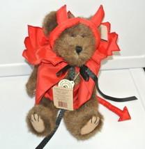 "Boyds Bears Conner D. Devilbear 919632 10"" bear Plush Stuffed Animal Tag - $18.76"
