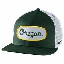 Nike Oregon Ducks True Fan Adjustable Trucker Hat - Green   - £18.11 GBP