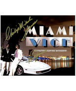 MIAMI VICE - DON JOHNSON & PHILIP M. THOMAS Signed Autographed Cast Phot... - $125.00