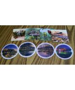 Reversible Coasters, Place Mats, Home Decor, Table Protection, Drink Mat... - $8.00
