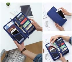 Travel Wallet Document Holder Organizer Passport Cover Fashion Unisex Tr... - €10,52 EUR