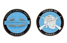 Challenge Coin Army Combat Infantry Coin 1st 2nd 3rd 4th Division - $14.07