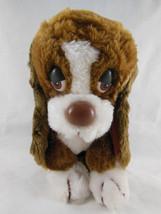 """Russ Berrie Baxter Basset Hound Puppy Dog 8"""" Plush No 871 Vintage Korea - $16.82"""