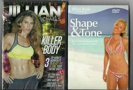 Jillian Michaels Killer Body Fitness DVD + Shape & Tone (DVD) [FREE] - $6.92