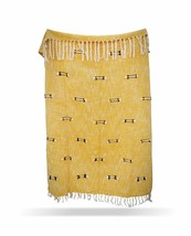 Decorative Sofa Throw, Cotton Handmade Throw Blanket, Boho Chick Blanket... - €53,47 EUR