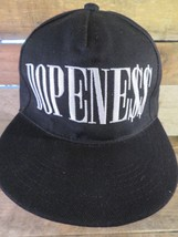 Dopeness Black White Snapback Adult Hat Cap - $8.90
