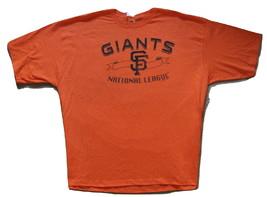 MLB San Francisco Giants Orange Short Sleeve Tee Shirt  3 XL Official NWT - $17.99
