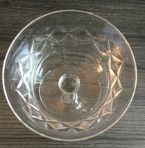 "Lenox Manor Tall Sherbet Champagne 5 1/8"" Blown Glass  - $9.89"