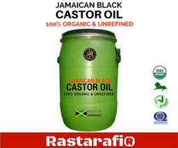 Rastarafi® Pure Jamaican Black Castor Oil | Bulk -Choose Gallon Size - $26.14+