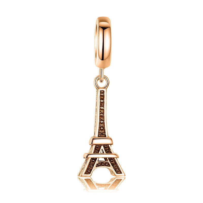 87c4daea71e4b 9ct Yellow Gold Handmade Eiffel Tower Charm and 50 similar items