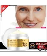 French Gold Snail Face Cream Collagen Essense Acne AntiAging Skin Whiten... - $10.39