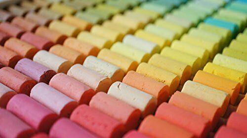 Neuf Gondole Doux Pastels 100 Couleurs Set Fait à la Main de Japon F/S
