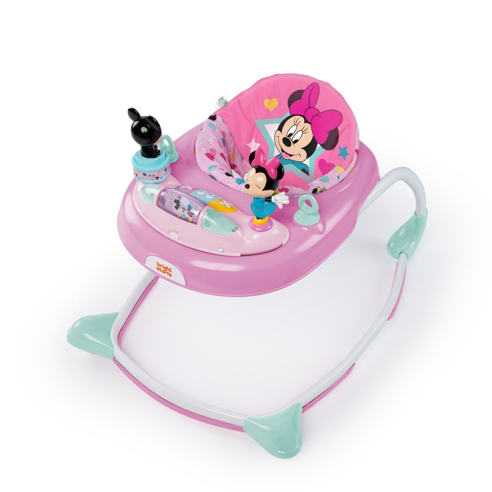 Disney Baby Minnie Mouse Baby Walker Activity Station Stars 3 height positions - $51.47