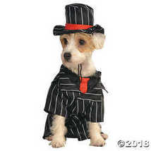 UHC Mob Dog Gangster Mafia Pimp Animal Funny Theme Halloween Pet Costume, L - $22.48