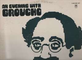 An Evening with Groucho - 2 Record Set - SP3515  - AM Records. - $7.60