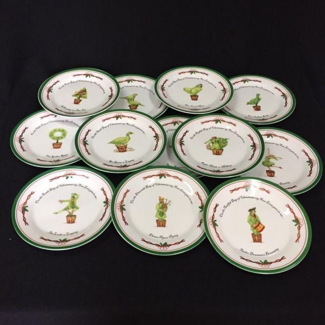 The Twelve Days of Christmas 12 Dessert Plates 7.5  & I. Godinger u0026 Co. The Twelve Days of and 26 similar items